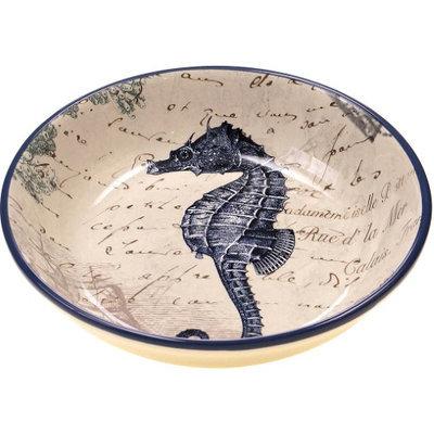 Certified International Seahorse Pasta Bowl
