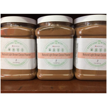 Keystone Pantry Natural Light Brown Cocoa Powder 2-Lb Jar