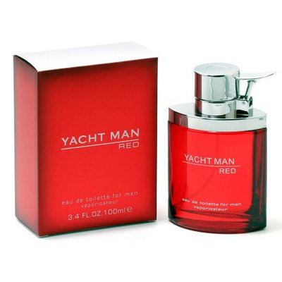 MYRURGIA 20979312 YACHT MAN RED FOR MEN by MYRURGIA - EDT SPRAY