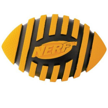 NERF Dog Nerf Spiral Squeaker Football Dog Toy: 3.5