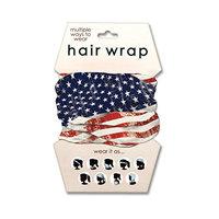 Spoontiques American Flag Hair Wrap