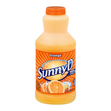 Sunny D Juice, Orange, 40 Fl Oz, 8 Ct- $0.04/Fl Oz