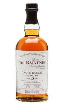 Balvenie 15 Year Old Single Barrel Sherry Cask Single Malt Scotch