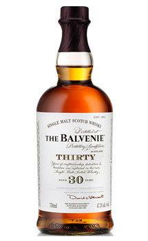 Balvenie 30 Year Old Single Malt Scotch