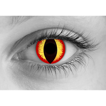 Special Effects Banshee Halloween Contact Lenses
