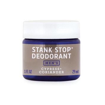 FATCO Men's Stank Stop Deodorant, Tallow, All Natural, Paleo, Cypress & Coriander Jar, 1 oz [Men's Cypress & Coriander]