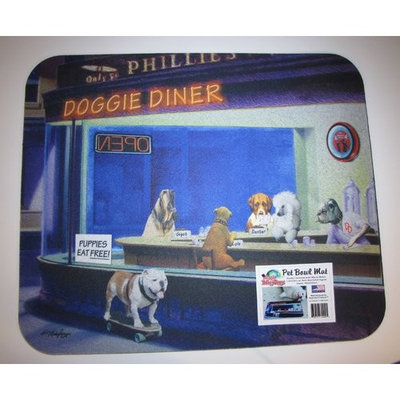 Metrotex Designs 'Man's Best Friend' Doggie Diner Dog Placemat