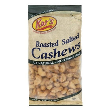 Kar's Nuts 6 Oz Salted Cashews (1670)