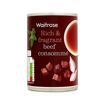 Beef Consomme Waitrose 400g - Pack of 6