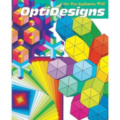 MindWare OptiDesigns Coloring Book