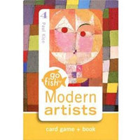 Birdcage Press BCP253 Go Fish for Modern Artists Go Fish Card Game