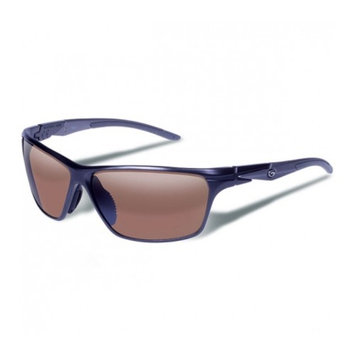 Gargoyles Zulu Sunglasses w/ Matte Dark Gun Frame, Brown Polarized w/Silver Mirr