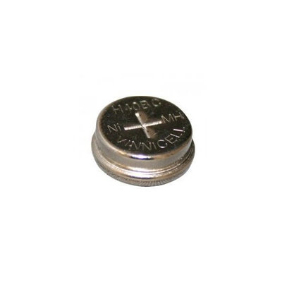 Coin Button Rechargeable Battery 40mAh NiMH 1.2V Flat Top Cell FAST USA SHIP