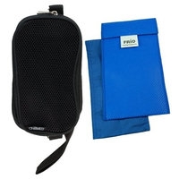 ChillMed - Soft Sided Travel Case with Air Flow Pocket for Your Cooling Wallets Holds Your Poucho's and Frios Individuals and Duo Pens