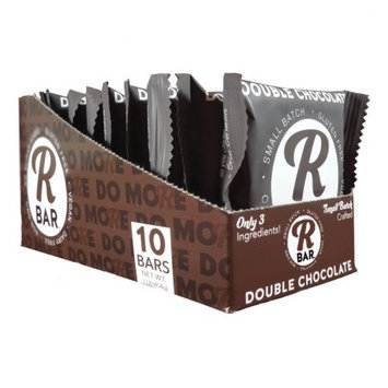 RBar Energy Double Chocolate, 10 Bars 3 Ingredients