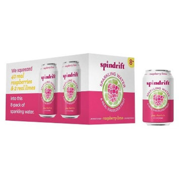 Spindrift Sparkling Water Raspberry Lime -8pk/12 fl oz Cans