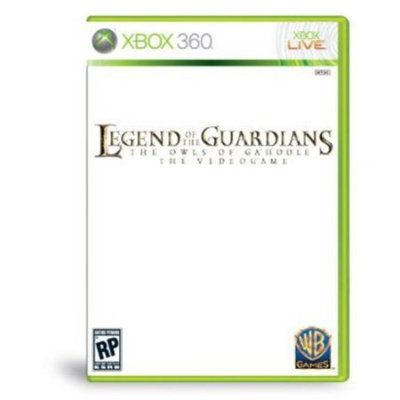 Warner Brothers Legend of the Guardians: Owls Ga'Hoole Xbox 360 Game Warner Bros. Studios