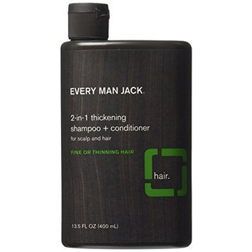 Every Man Jack Tea Tree Thickening 2-In-1 Shampoo 400 ml by Every Man Jack
