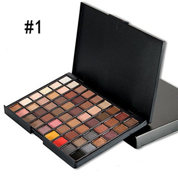 PhantomSky 55 Color Eyeshadow Makeup Palette Cosmetic Contouring Kit #1 - Perfect for Professional and Daily Use