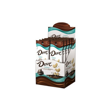 Dove, Cashews Dipped In Milk Chocolate And Dusted With Sea Salt, 1.6 Oz Packs, 10 Ct