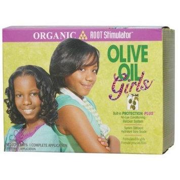 Organic Root Stimulator Girls Olive Oil Hair Relaxer