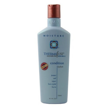 Thermafuse Moisture Condition (8 oz) for Daily Use Repairs Hair and Gives Intense Shine, Extra Moisture, Body and Luster to Damaged, Bleached, Coarse, Normal, Natural, Curly and Colored Hair Types