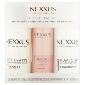 Nexxus 3 Piece Trial Set for Normal to Dry Hair 3 oz & 1.5 oz