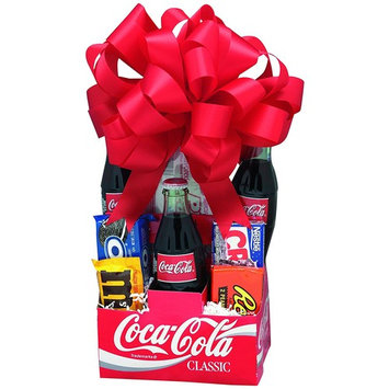 KaBloom Gift Basket Collection: Old Time Classic Soda Parlor Gift Pack of Coca-Cola and Candy