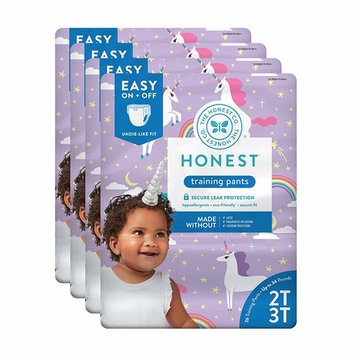 The Honest Company Toddler Training Pants, Unicorns, 2T/3T, 104 Count (Packaging May Vary)