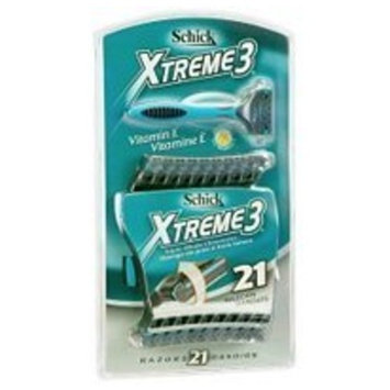 Schick Xtreme 3 Disposable Razors - 21ct