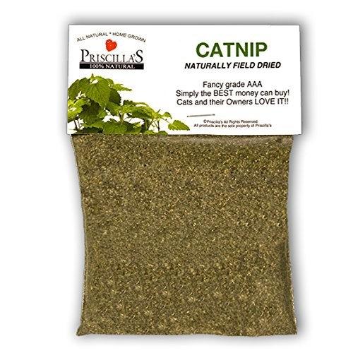 Priscilla's Naturally Field Dried Ultra-Potent Catnip (Ultra-Fine)