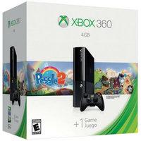 Microsoft Corp. Refurbished Microsoft L9V-0039 Xbox 360 4GB Console Peggle 2 Bundle - Black