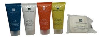 Temple Spa Travel Set Lotion, Shampoo, Conditioner, Shower Gel, Soap