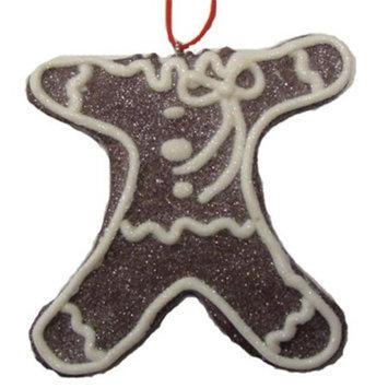 Sweet Memories Sugared Headless Gingerbread Cookie Bite Christmas Ornament