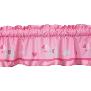 Lambs & Ivy Bedtime Originals Bubblegum Jungle Window Valance