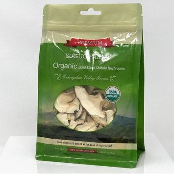 R.i.t. Co. Inc Yuguo Farms Dried Sliced Shiitake Mushrooms Certified USDA Organic, 100% Naturally Grown, NON-GMO, 2oz bag, 10 pack