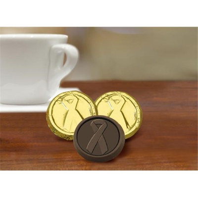 Chocolate Chocolate 325815 Childhood Cancer Awareness Chocolate Coin