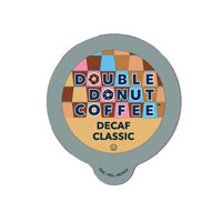 Double Donut Classic Decaf Coffee Single Serve Cups For Keurig K cup Brewer, 12 Count