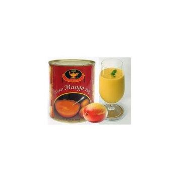 Indian Groceries, Deep Kesar Mango Pulp 850 Grams, 30 Oz. (Pack of 2)