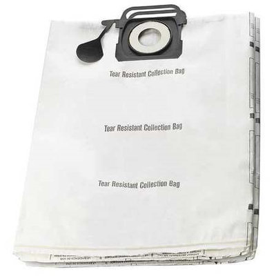 Dayton Dry Collection Bag,15-1/2 in. H,PK2 [PK/2] Model: 45UZ59