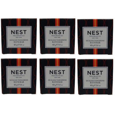 Nest Fragrances Sicilian Tangerine Bath Soap lot of. Total of 8.4oz (Pack of 6)