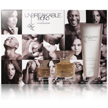 Unbreakable Bond By Khloe & Lamar 3 Piece Gift Set For Men & Women 1 ea