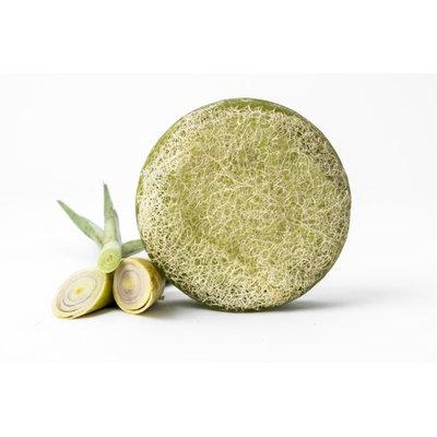 Reveal Naturals Luffa Soap Lemongrass Loofah Sponge - Exfoliating Body Scrub