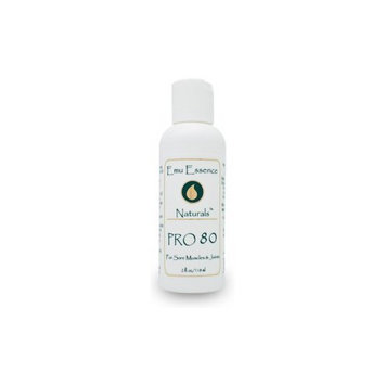 Emu Essence PRO80 with Emu Oil For Sore Muscles & Joints 4 oz