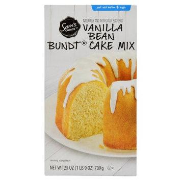 Wal-mart Stores, Inc. Sam's Choice Vanilla Bean Bundt Cake Mix, 25 oz
