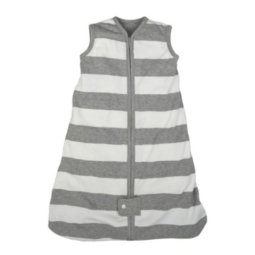 Burt's Bees Baby® Beekeeper™ Wearable Blanket Organic Cotton - Rugby Stripes - Gray