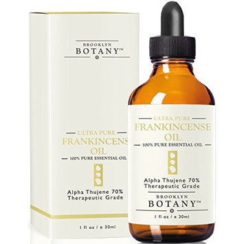 Frankincense Essential Oil (Alpha Thujene 70%) - Brooklyn Botany - Therapeutic Grade - 100% Pure, 1 fl oz