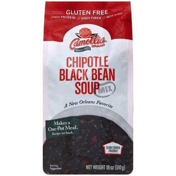 Camelia Chipotle Black Bean Soup Mix, 18 oz, (Pack of 8)