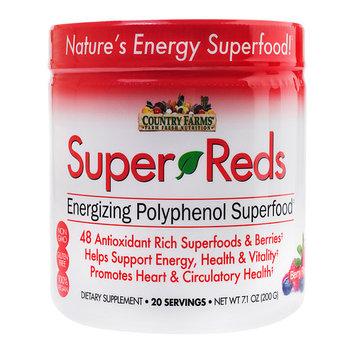 Country Farms Super Reds Drink Mix, Berry, 7.1 Oz