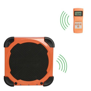 Elitech Wireless Refueling Electronic Refrigerant Scale For HVAC and Auto AC with Portable Carrying Case and LCD Display Overweight Protection LMC-210A